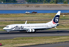 N535AS B737-890 cn 35200 Alaska Airlines 190903 Portland International 1001 (Nikon Photographer NL) Tags: n535as b737 alaskaairlines portlandiap pdx nregister aviation airliners commercial