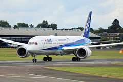 All Nippon Airways (ANA) - N1015 - Farnborough Airport (FAB/EGLF) (Andrew_Simpson) Tags: n1015b ja880a allnipponairways ana boeing7878dreamliner boeing7878 boeing787dreamliner boeing787 boeingdreamliner boeing 7878dreamliner 7878 787dreamliner 787 dreamliner japan japanese staralliance speciallivery logojet takeoff takingoff departure departing depart farnboroughairport fanrboroughinternationalairport farnboroughinternational farnboroughairshow farnboroughinternationalairshow farborough fab eglf hampshire airshow airdisplay fia fia16 fia2016 uk aircraft aviation avgeek avporn aviationgeek aviationporn planepic planephoto planes plane aircraftpic airplane aeroplane unitedkingdom gb greatbritian england