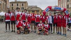 Gruppo Atleti Avis Macerata alla 1° CorriAdmo