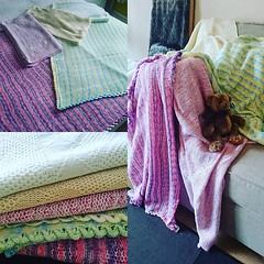 Baby blankets pressed and ready to finish off, phew! #AnthonyFrench #Frenchieskids #knitmaster #machineknitting (Toekneemalonee) Tags: afoccasions afeditions afhomestyle frenchieskids like share follow