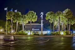Weeki Wachee Springs State Park, 6131 Commercial Way, Weeki Wachee, Florida, USA (Photographer South Florida) Tags: weekiwacheespringsstatepark 6131commercialway weekiwachee florida usa newtperry sunshinestate themepark centralflorida underwatercaves mermaids oldflorida touristattraction underwatershow buccaneerbay riverboatrides kayak paddleboard palmtrees waterpark aquarium theater parksystem nightphotography longexposure statue flags