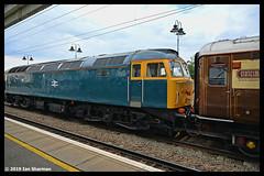 No 47614 22nd Sept 2019 Ely (Ian Sharman 1963) Tags: no 47614 22nd sept 2019 ely class 47 duff station diesel engine railway rail railways train trains loco locomotive services the statesman tour