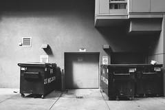 the.human.scale (jonathancastellino) Tags: toronto alley lane leica q dumpster door ordinary vernacular sign vent