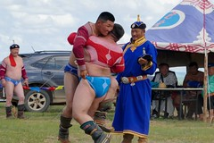 Sumo Wrestling in Mongolia (somazeon) Tags: tx1 lumix panasonic khenti mongolia wrestling sumo
