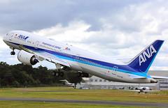 All Nippon Airways (ANA) - N1015B take-off - Farnborough Airport (FAB/EGLF) (Andrew_Simpson) Tags: n1015b ja880a allnipponairways ana boeing7878dreamliner boeing7878 boeing787dreamliner boeing787 boeingdreamliner boeing 7878dreamliner 7878 787dreamliner 787 dreamliner japan japanese staralliance speciallivery logojet takeoff takingoff departure departing depart farnboroughairport fanrboroughinternationalairport farnboroughinternational farnboroughairshow farnboroughinternationalairshow farborough fab eglf hampshire airshow airdisplay fia fia16 fia2016 uk aircraft aviation avgeek avporn aviationgeek aviationporn planepic planephoto planes plane aircraftpic airplane aeroplane unitedkingdom gb greatbritian england