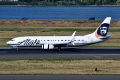 N535AS B737-890 cn 35200 Alaska Airlines 190903 Portland International 1002 (Kodak 260) Tags: n525as b737 alaskaairlines portlandiap pdx nregister aviation airliners commercial