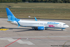 VP-BQY - Boeing 737-8MC(WL) - Pobeda (MikeSierraPhotography) Tags: 737 air airlines airport boeing cgn cgneddk cologne country deutschland germany köln manufacturer plane pobeda spotting town