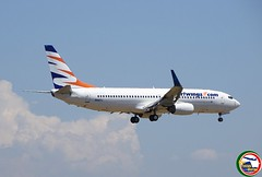 BOEING B737-800W N820TJ (Rome Aviation Spotters) Tags: smartwings theboeingcompany b737family