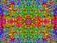The Splendor of Colour... (soniaadammurray - On & Off) Tags: digitalart art myart visualart experimentalart abstractart contemporaryart picmonkey photoshop shadows reflections line colour shapes patterns kaleidoscope look artchallenge artweekgallerygroup ~~~kaleidoscopemirrorart~~~