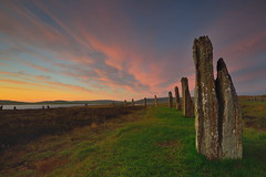 Neolithic dawn (images@twiston) Tags: sunrise daybreak ringofbrodgar ethereal brodgar neolithic henge stonecircle stenness orkney scotland standing stones megalith loch harray prehistoric stoneage atmospheric landscape imagestwiston highlands islands farnorth brogar sky cloud clouds unesco worldheritagesite nisi nisifilters gnd neutraldensity grad