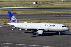 N410UA A320-232 cn 463 United Airlines 190903 Portland International 1003 (Nikon Photographer NL) Tags: n410ua a320 unitedairlines nregister portlandiap pdx aviation airliners commercial