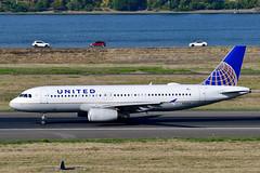 N410UA A320-232 cn 463 United Airlines 190903 Portland International 1001 (Nikon Photographer NL) Tags: n410ua a320 unitedairlines nregister portlandiap pdx aviation airliners commercial