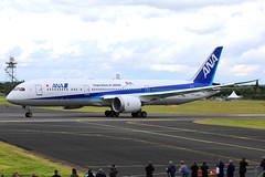 All Nippon Airways (ANA) - N1015B take-off roll - Farnborough Airport (FAB/EGLF) (Andrew_Simpson) Tags: n1015b ja880a allnipponairways ana boeing7878dreamliner boeing7878 boeing787dreamliner boeing787 boeingdreamliner boeing 7878dreamliner 7878 787dreamliner 787 dreamliner japan japanese staralliance speciallivery logojet takeoff takingoff departure departing depart farnboroughairport fanrboroughinternationalairport farnboroughinternational farnboroughairshow farnboroughinternationalairshow farborough fab eglf hampshire airshow airdisplay fia fia16 fia2016 uk aircraft aviation avgeek avporn aviationgeek aviationporn planepic planephoto planes plane aircraftpic airplane aeroplane unitedkingdom gb greatbritian england