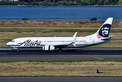 N535AS B737-890 cn 35200 Alaska Airlines 190903 Portland International 1002 (Nikon Photographer NL) Tags: n535as b737 alaskaairlines portlandiap pdx nregister aviation airliners commercial nikon d500