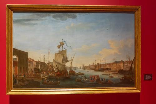 embarquement de l'expédition du Maréchal de Richelieu pour Minorque.