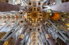 The Basílica de la Sagrada Família (Matilda Diamant) Tags: basílica sagrada família rusalka barcelona spain spanish catalonia architecture roman catholic basilica designed catalan architect antoni gaudí unesco world heritage site interior