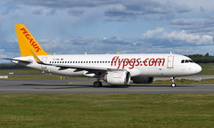 Pegasus TC-NBL, OSL ENGM Gardermoen (Inger Bjørndal Foss) Tags: tcnbl pegasus airbus a320 neo osl engm gardermoen