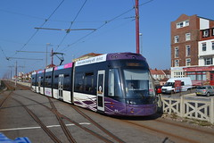 Blackpool Transport (Will Swain) Tags: blackpool during bank holiday gold running day 25th august 2019 heritage preserved tram trams light rail railway rails transport travel europe transportation city lancashire coast