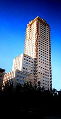 Analogic Spanish Tower (Noone Studio) Tags: tower city architecture spanish windows building buildings analogic analogicphotography