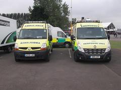 Photo of British Red Cross Renault Master (AE09 JKO & AE11 JSY)