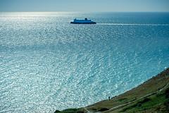 The Wave Goodbye (Tony.Brasier) Tags: sky sea grass walking water boats nikond7200 location lovely