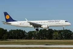 D-AECB (PlanePixNase) Tags: aircraft airport planespotting haj eddv hannover langenhagen lufthansa regional embraer 190 e190