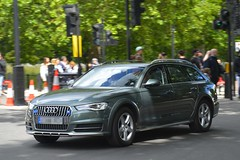 Unmarked Special Escort Group Audi A6 Allroad (S11 AUN) Tags: london police audi metropolitan car estate traffic 4x4 group special covert avant escort seg a6 unmarked allroad anpr fsu vehicle roads emergency unit 999 rpu metpolice policing support response firearms armed arv