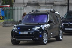 Unmarked Special Escort Group Land Rover Discovery (S11 AUN) Tags: london traffic 4x4 group police rover special covert land discovery metropolitan escort seg unmarked disco5 anpr car vehicle roads emergency unit 999 rpu metpolice policing support fsu response firearms armed arv