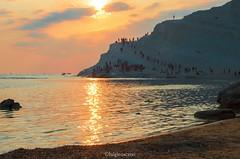 scala dei turchi (tosco974) Tags: scala dei turchi sicilia mare estate italia italy sicily tramonto vacanze photo foto fotografia digitale colori sole