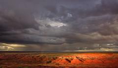 01-03-14 Monsoon clouds Petrified Forest National Wilderness Area (22) NPS-Stuart Holmes (PetrifiedForestNPS) Tags: wilderness petrifiedforestnationalwildernessarea petrifiedforest nationalpark backcountry