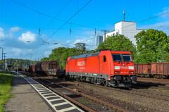 185 270-6 Railion DB Logistics Köln West 09.05.14 (Paul David Smith (Widnes Road)) Tags: 1852706 railion db logistics köln west 090514 br185 traxx bombardier