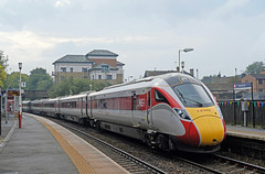 800107 @ Horsforth (TheRosyMole) Tags: 800107 horsforth leeds yorkshire railway railroad azuma lner