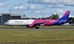 WizzAir UK G-WUKH, OSL ENGM Gardermoen (Inger Bjørndal Foss) Tags: gwukh wizzair wizzairuk airbus a321 osl engm gardermoen