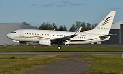 Arab Wings T7-PAL, OSL ENGM Gardermoen (Inger Bjørndal Foss) Tags: t7pal arabwings boeing 737 osl engm gardermoen