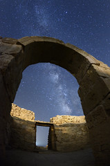 Star Gate (FX-1988) Tags: shivta israel night sky milkyway astronomy astrophotography old gate arch