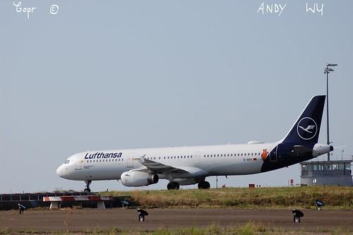 Airbus A321 Lufthansa Die Maus Livery (08/21/2019)