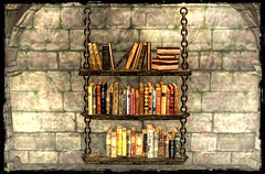 ~*SR*~ Rustic Bookshelf 3 rack`s_001 (Mondi Beaumont) Tags: medieval sl secondlife mittelalter fantasy store deutsch german elf even fairy fae house houses garden deco decoration interior animals plants trees flowers bushes grass greenery goth gothig prefab cottage mesh meshes fullperm sculpty landscape sweet revolutions sr ~sr~ sweetrevoutions buidings accessoires gacha new release shelf shelves book bookshelf regal bücher rustic rack