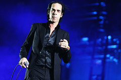 Happy Birthday, Nick Cave! (kirstiecat) Tags: nickcave happybirthday fest festival music musician concert blue band live aussie australian writer author singer colour color canon coachella