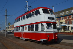 Blackpool Transport Balloon 701 (Will Swain) Tags: blackpool during bank holiday gold running day 25th august 2019 heritage preserved tram trams light rail railway rails transport travel europe transportation city lancashire coast balloon 701