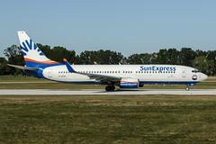 D-ASXV (PlanePixNase) Tags: aircraft airport planespotting haj eddv hannover langenhagen sunexpress boeing 737800 b738 737