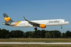 D-ATCE (PlanePixNase) Tags: aircraft airport planespotting haj eddv hannover langenhagen condor airbus 321 a321