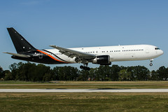 G-POWD (PlanePixNase) Tags: aircraft airport planespotting haj eddv hannover langenhagen titan boeing 767 767300 b763