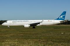 4O-AOA (PlanePixNase) Tags: aircraft airport planespotting haj eddv hannover langenhagen embraer 190 e190 montenegro
