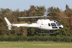 G-HITI - 2016 build Airbus Helicopters AS350 B3 Ecureuil, moving from the Heliport to the Airport side at Barton (egcc) Tags: 8239 as350 as350b3 airbushelicopters barton cityairport egcb ecureuil elstreeink ghiti h125 helicopter imgio lightroom manchester squirrel