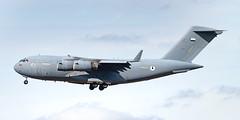 United Arab Emirate Boeing C-17A 1223 (Thames Air) Tags: united arab emirate c17a 1223 boeing raf brize norton