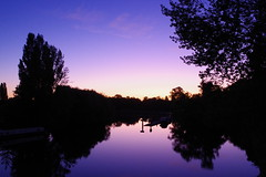 Sunrise (Derek Morgan Photos) Tags: sunrise riverthames reading