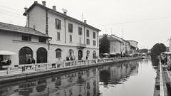 Milano-Naviglio Grande (anto474) Tags: lombardia milano naviglio acqua water alzaia milan italy italia