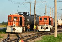 Iowa Traction #54 & 60 (Jim Strain) Tags: jmstrain train railroad railway locomotive electric iowa traction steeplecab interurban