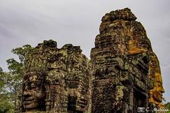 180726-205 Le Bayon, Angkor Thom (2018 Trip) (clamato39) Tags: olympus angkorthom angkor bayon religieux religion temple ancient ancestrale antiquité old patrimoine landmark asia asie cambodge cambodia voyage trip