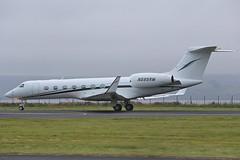 Gulfstream GV-SP G550 N585RM Rory McIlroy (Mark McEwan) Tags: gulfstream gulfstreamaerospace gulfstreamv g550 n585rm rorymcilroy dunhilllinkschampionship dunhill dundee dundeeairport dnd bizjet aviation aircraft airplane gvsp dunhillgolf